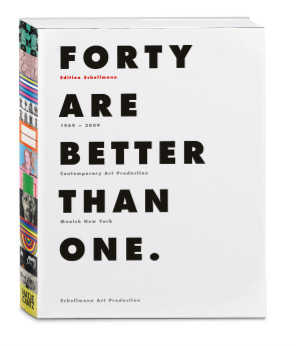 Schellmann Art<br/>Forty Are Better Than One.
