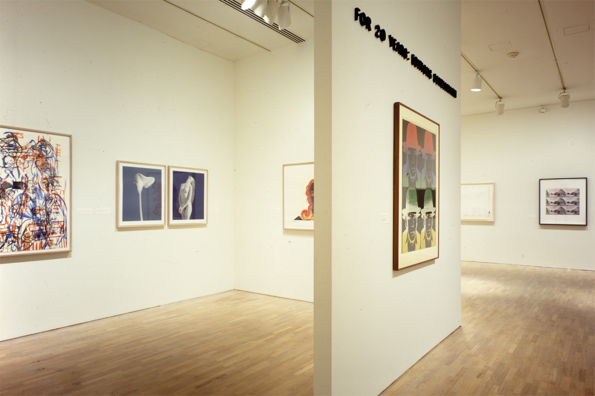 Museum of Modern Art, NYC<br/> For 20 Years: Editions Schellmann 2, 1989