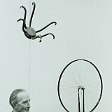 Marcel Duchamp in the exhibition...