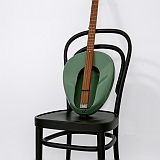 Untitled (Thonet chair, Jackson guitar)